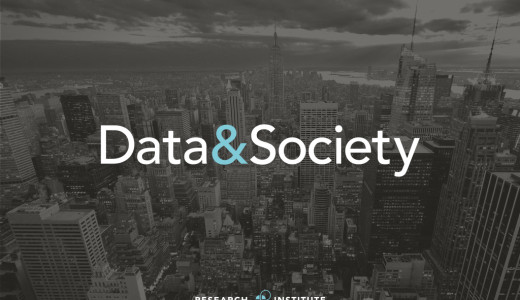 Video: Talk at Data & Society in New York